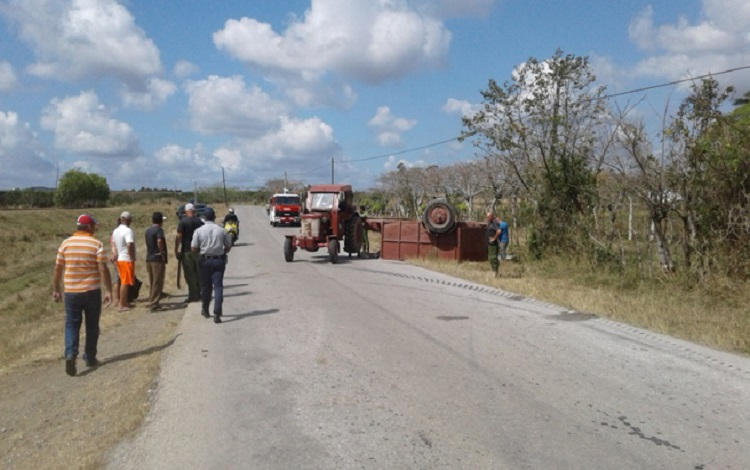 Accidente en Placetas