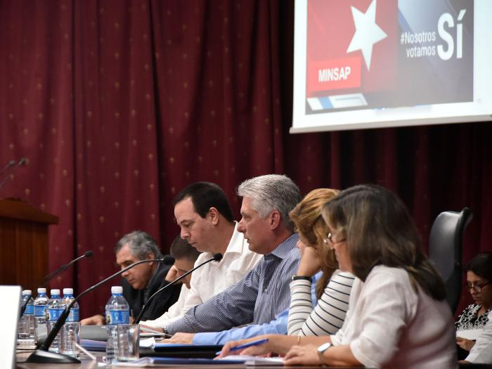 Working well is the best ideological work we can do, says Diaz-Canel