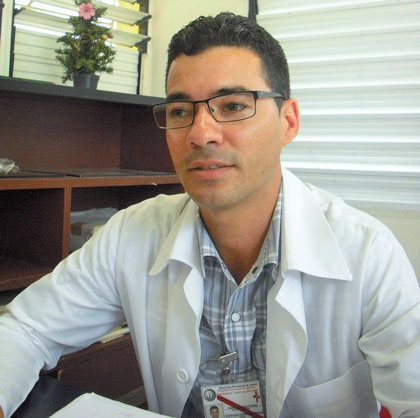 Doctor Yandry Alfonso Chang.