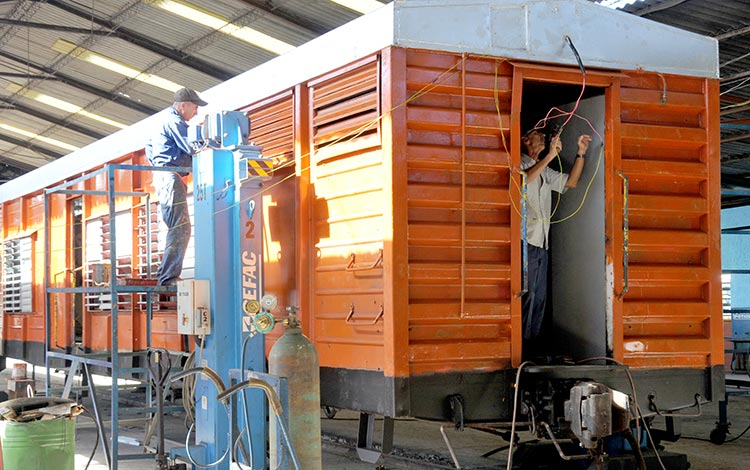 In Camagüey investor program benefits the railway sector