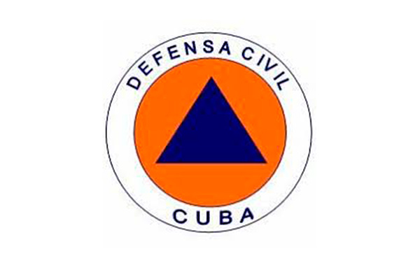 Logo de la Defensa Civil.