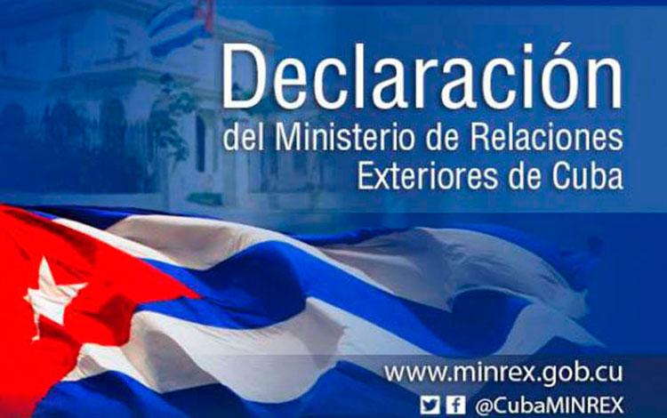 Cuba rejects slanderous anti-Cuban mention of the so-called Lima Group